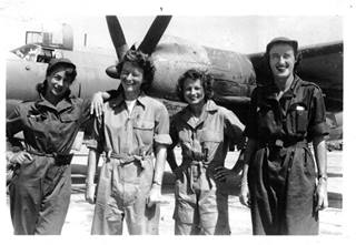 Dot and her B-26 mates