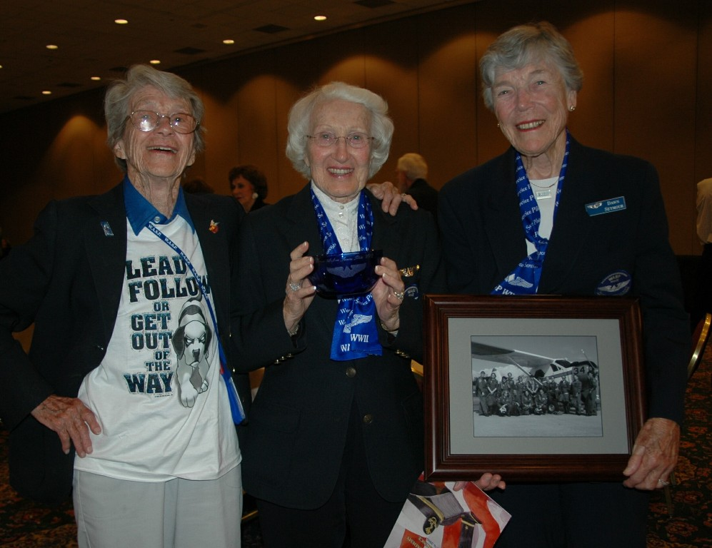 At the Portland WASP 2006 Conference - Dot, Jan Goodrum, Dawn Seymour