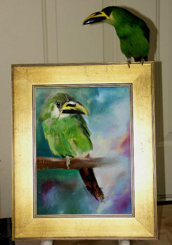 BIJOU the Art Critic! - Click here for Nance's Website