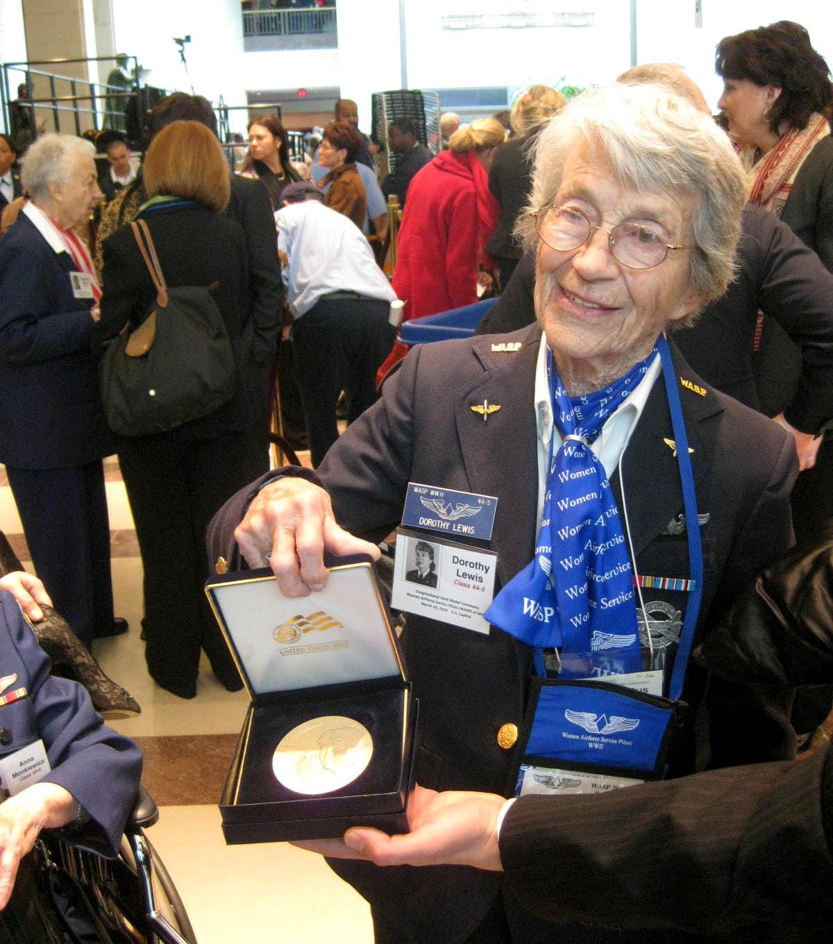 Dot getting the Congressional Gold Medal - March 10, 2010
